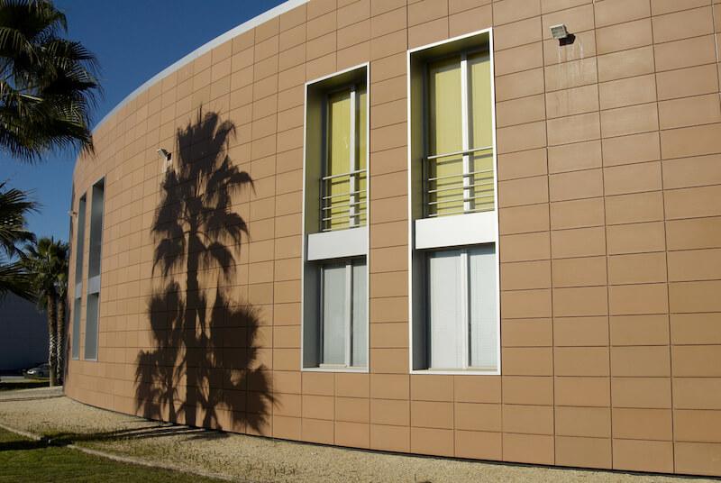 Фасадные керамические плиты Frontek